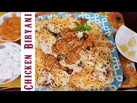 How to make Chicken Dum Biryani | Easy Chicken Biryani Recipe | Cooking Hyderabadi Biryani Recipes