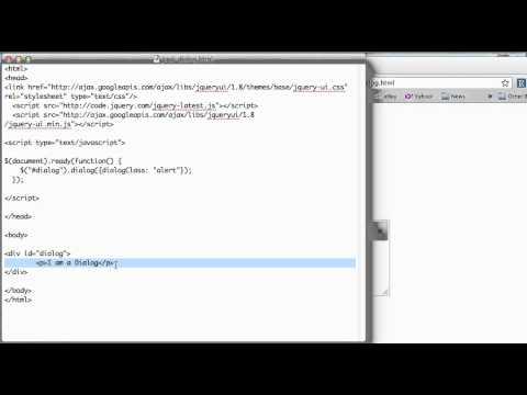 JS 4U 168: JQuery UI Dialog