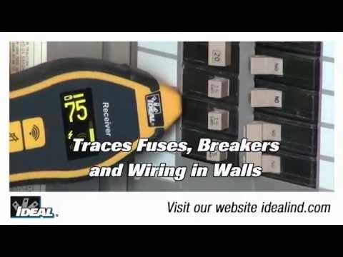 SureTrace™ Circuit Tracer Finding a Breaker