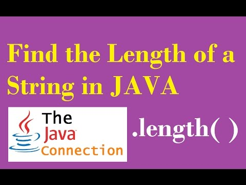 How to Get the Length of a String in Java - length() - Working With Strings - CH5 L3