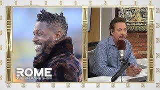 Antonio Brown WON The Trade | The Jim Rome Show