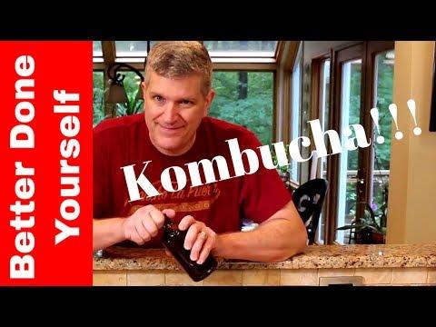 Carbonated Kombucha is Easy!