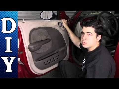 How to Remove and Replace a Door Panel - Chrysler PT Cruiser