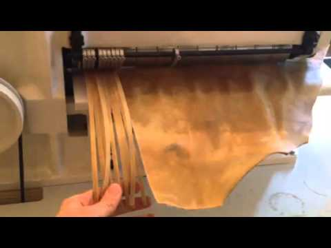 Coupe bande - cobra AK 20 Leather strap  cutting machine -