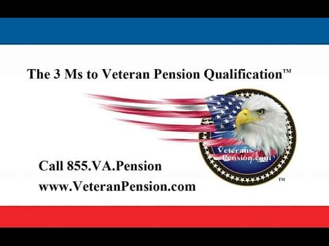 Veterans Pension 2017 update