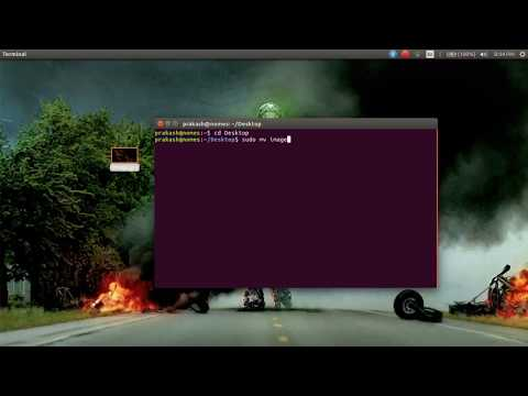 How to rename file from terminal in linux