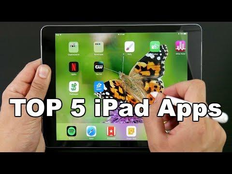 Top 5 FREE iPad Apps June 2017?