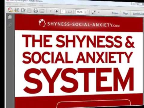 How To Overcome Social Anxiety Naturally | The Shyness And Social Anxiety System Review