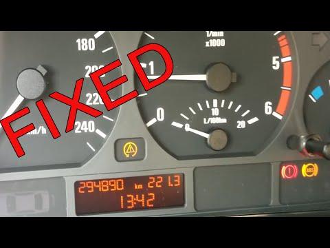BMW E46 ABS ASC handbrake light on FIX (broken sensor replacement)