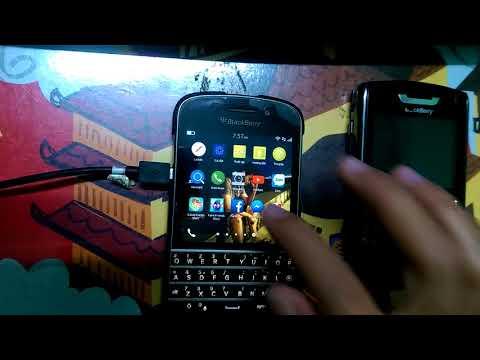 Test Blackberry Q10 - facebook- zalo- gmail- messenger