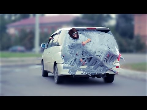 People Doing Funny Things With Cars