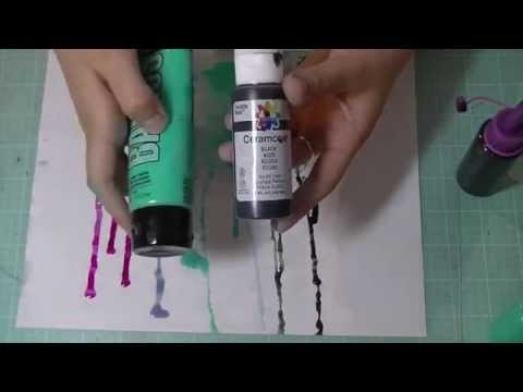 ART HACK: How To Make Your Own High Flow Acrylic Inks!! *Tutorial* | Serena Bee
