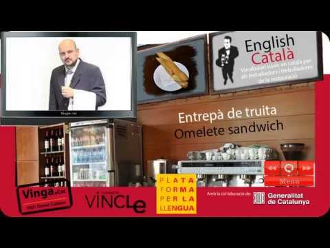 Learn Catalan - Catalan for english speaking waiters
