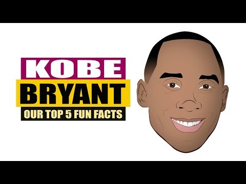 Celebrity Fun Facts: Kobe Bryant | Biography Highlights | Los Angeles Lakers Basketball Player