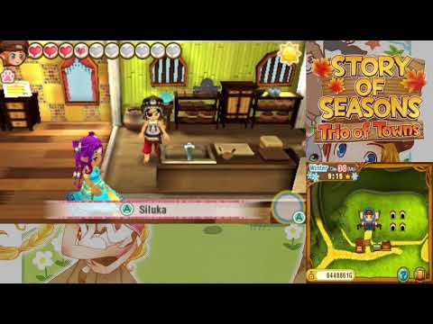Let's Play Story of Seasons: Trio of Towns 133: The Final Harvest