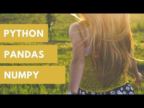 Numpy and Pandas in Python Basics