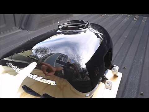 2016 Harley Davidson fuel-tank Paintless-Dent-Repair