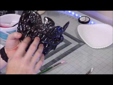 Samurai Armor Project Part 2 - MAKING A MENPO MASK using Polly Plastics