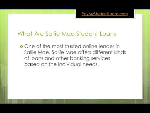 Sallie Mae Student Loan Overview