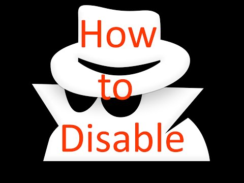 How to disable incognito mode in chrome and internet explorer