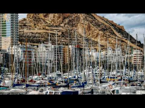 Spain Malaga Alicante Barcelona Fly in tour