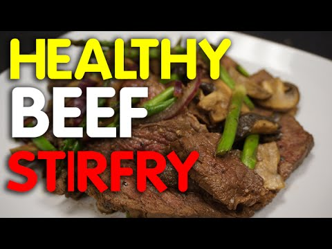 Keto Diet Beef Stir Fry -  beef recipes -  meat -
