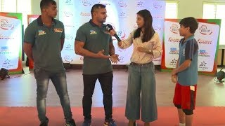Bengal Warriors surprise our #KBDJuniors!