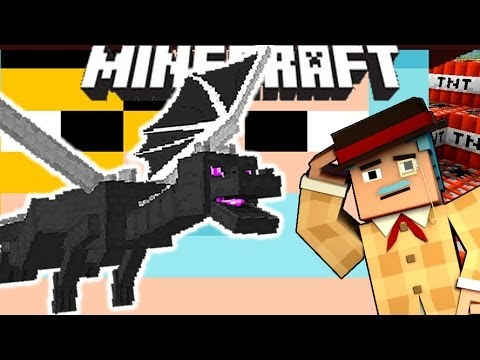 Minecraft How To Ride ENDER DRAGON! No Mods!