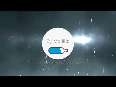 O2 Monitor App - Oxygen duration calculator & alarm!