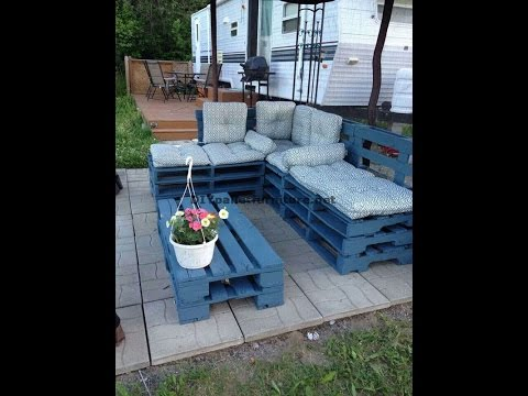 The 30 best pallet furniture ideas for the garden