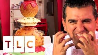 Buddy Wants A Bite of the Dumpling Cake   Cake Boss