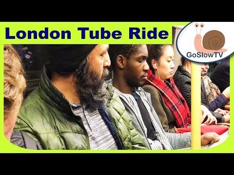 London Underground Tube Ride | Bermondsey To Stratford | Jubilee Line | Slow TV | Episode 58 (2018)