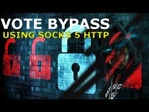 Unlimited Vote Using Proxy  Socks 5 - Ragnarok  Voting Bypass