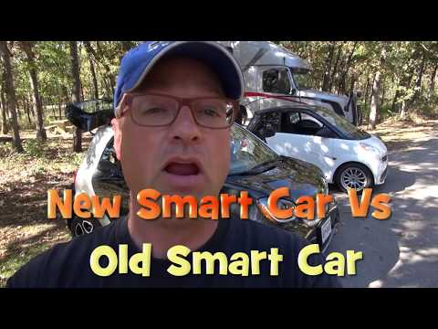 New vs Old - Comparison of Smart Car 451 Vs New 453 Model