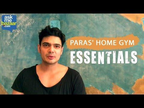 Paras' Home Gym Workout Essentials