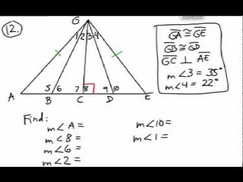 How to Solve Triangle Problems: Missing Parts using Algebra #2