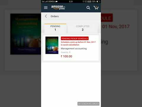 How to schedule pick up for Sell on Local finds @Amazon.in
