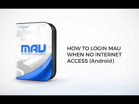 MichaelSoft Cybercafe Diskless System (MAU)- How To login MAU when no internet access (Android)