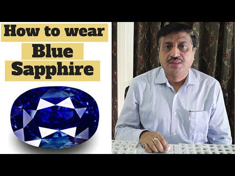 How to wear Blue Sapphire