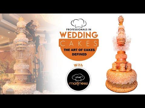 WEDDING CAKE.TALLEST WEDDING CAKE STRUCTURE IN SRI LANKA BY CHEF MARTINESZ