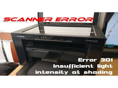 Canon MF3010 Scanner Problem Error 301|| Canon Disassembly || Image Class Scaner Problem