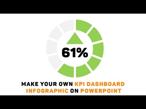 Powerpoint Tutorial: Make Your Own KPI Dashboard Infographic!