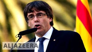 Spain withdraws request for Puigdemont