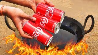 coca cola vs Hot oil Experiment
