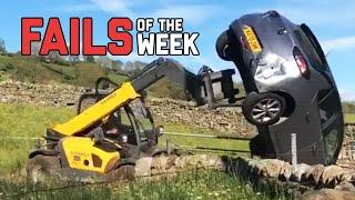Angry Farmer Flips Car Off His Land - Fails Of The Week | FailArmy