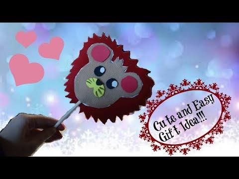 RJ Makes Lion Stick Puppets