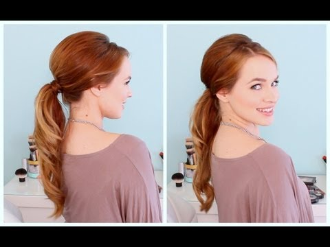 Retro Inspired Ponytail