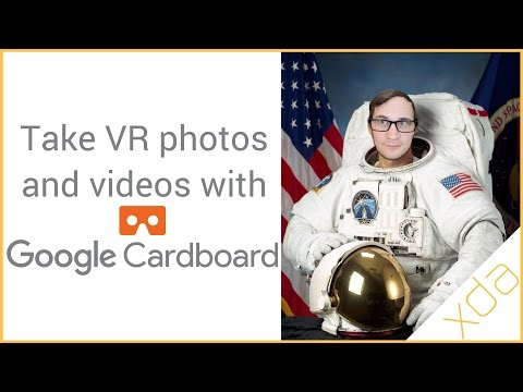 Take VR Photos and Videos with Google Cardboard