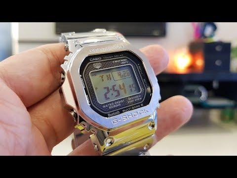 LIOW VIDEO: CASIO full metal watch GMW-B5000卡西欧钢表