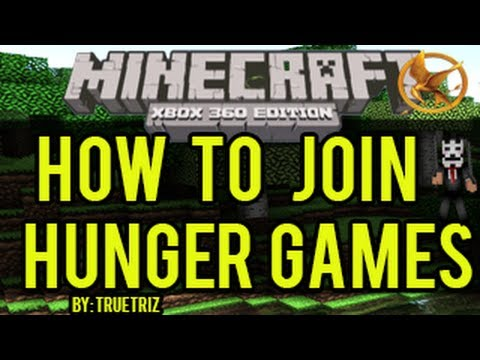 Minecraft (Xbox 360) - How To Join Xbox Minecraft Hunger Games